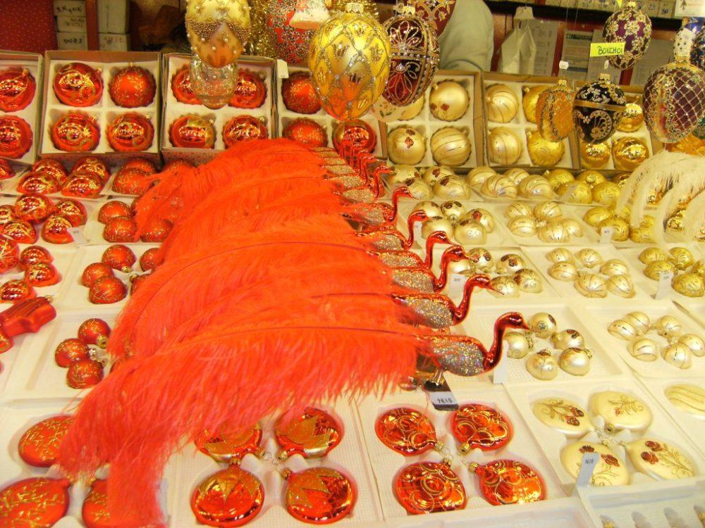 décorations de noel marché de noel de strasbourg cathédrale