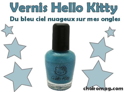 bleu nuage bleu ciel irisé hello kitty carribean