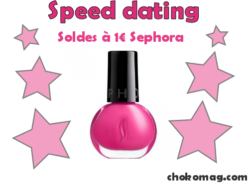 vernis à ongles sephora soldés à 1 euros rose barbie speed dating