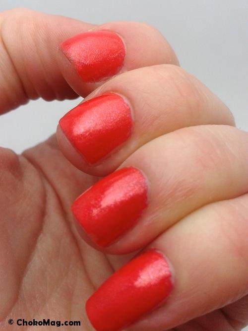 vernis à ongles dior manucure diablotine