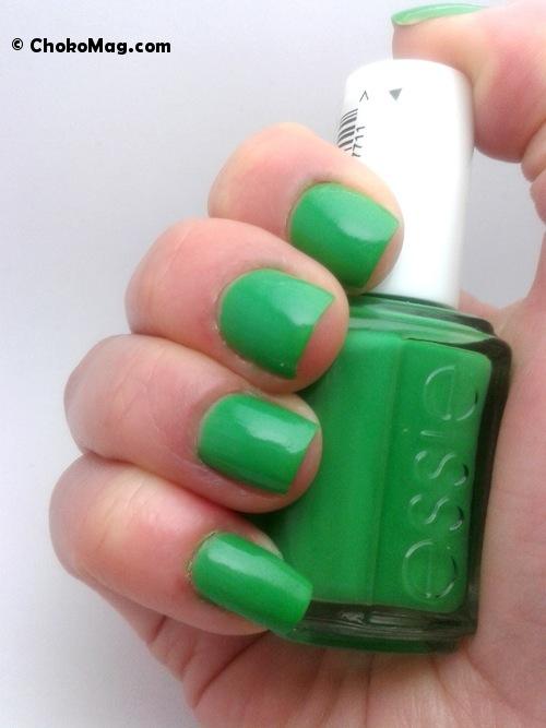 vernis à ongles Essie vert cocktail mojito