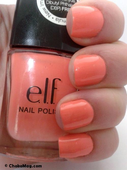 Célèbre ELF] Coral Dream: le corail orange parfait pour l'été! KQ93