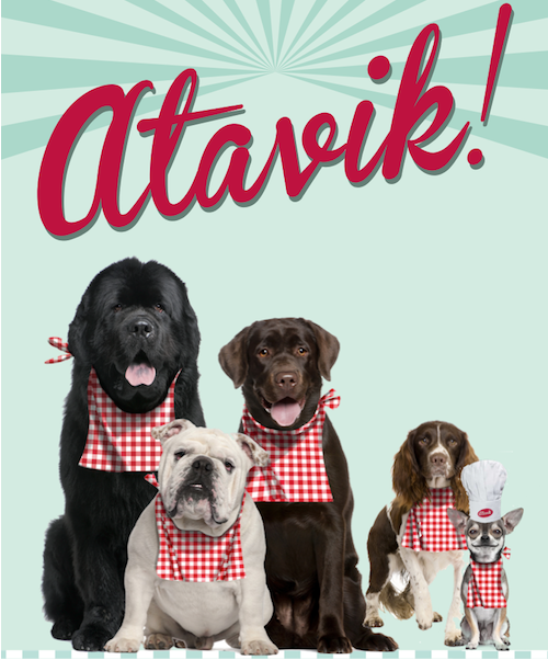 croquettes pour chien avec produits frais atavik