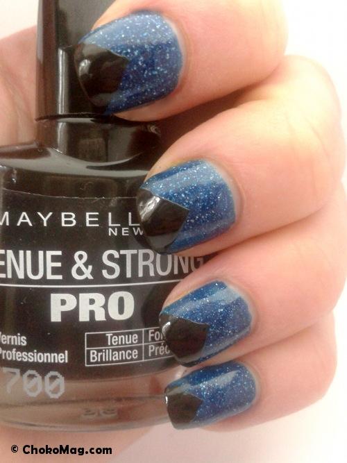 nail at cosmos picture polish et vernis noir