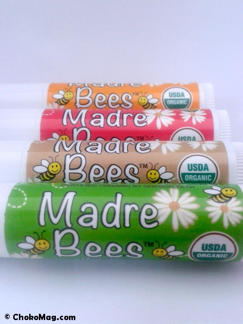 collection de baumes à lèvres Madre bees sierra bees iherb
