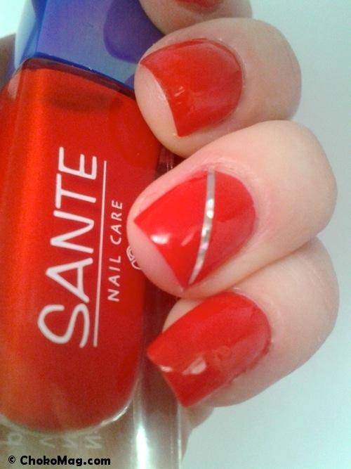 vernis à ongles 5-free rouge santé naturkosmetik