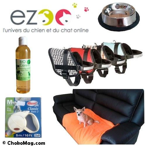 première commande nouveau site ezoo boutique en ligne chien