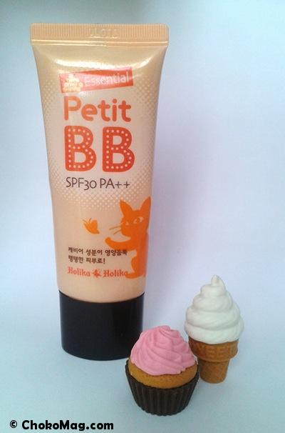 bb cream petit bb essential de la marque coréenne holika holika
