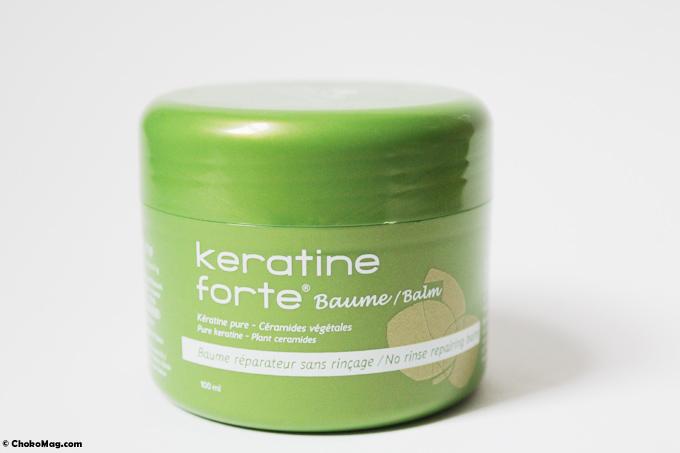 baume keratine forte biocyte à la kératine renforçant et brillance biocyte