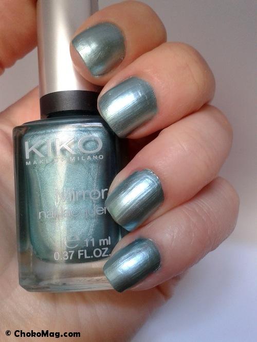 vernis à ongles kiko métallique vert émeraude
