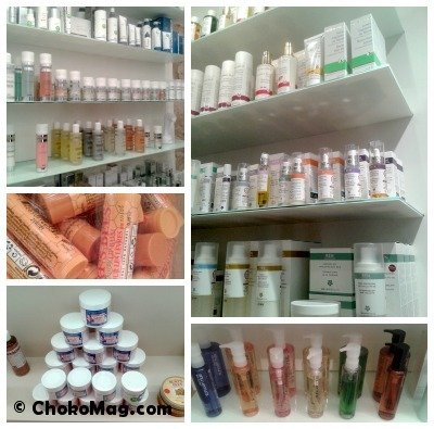 boutique paris oh my cream ren dr hauschka egyptian magic shu uemura
