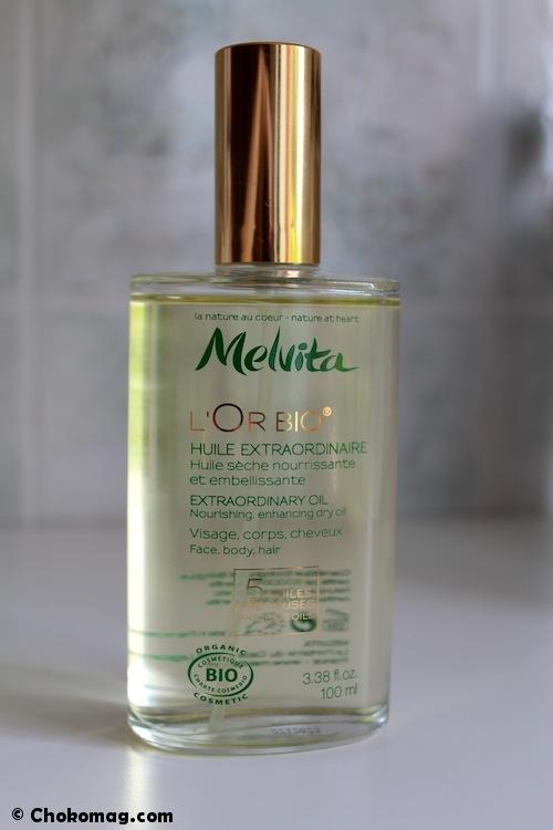 huile sèche extraordinaire Melvita