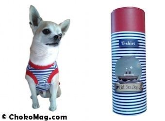 marinière AToodog pour petit chien