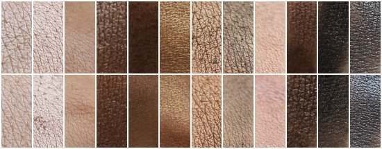 En haut, la palette naked d'Urban Decay. En bas, la palette Undressed de Make Up Academy.