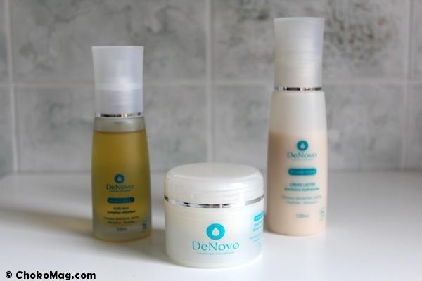 produits pour cheveux naturels DenoVo composition parfaite