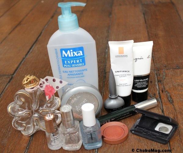 maquillage terminé à jeter bilan produits finis