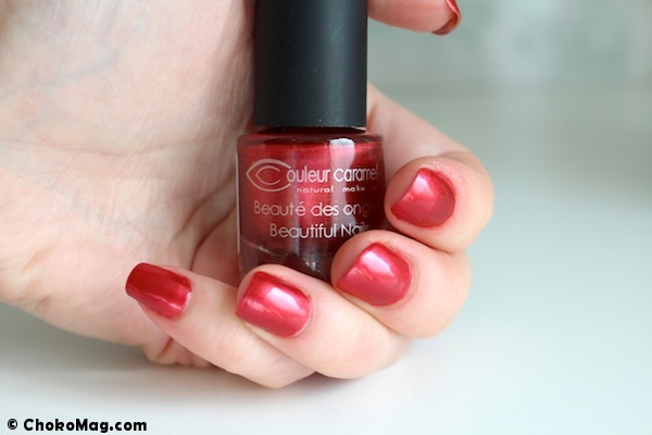 vernis à ongles 5-free couleur caramel