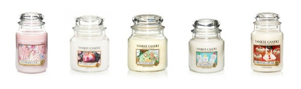 bougies de noel collection hiver yankee candle