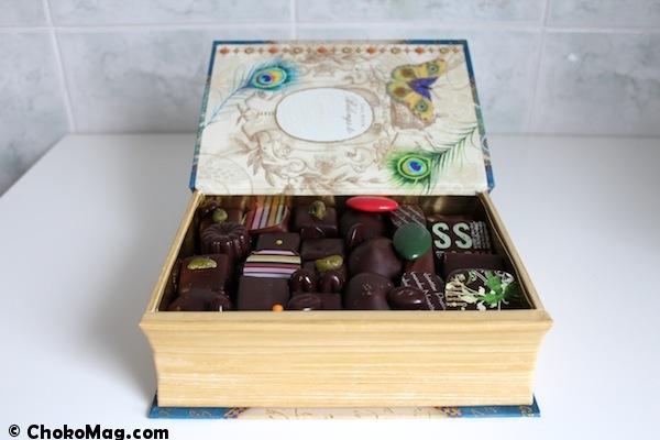 chocolats reims la petite friande boite à offrir livre papillon