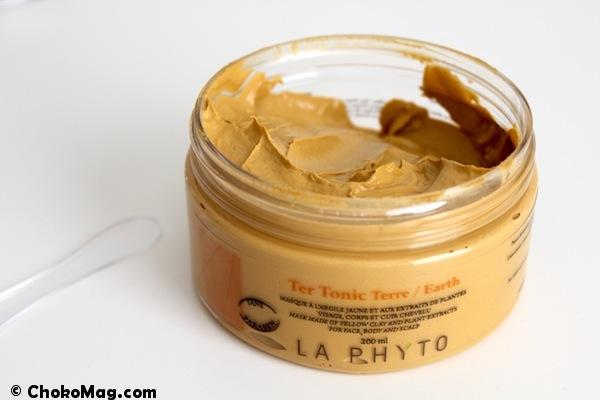texture masque argile jaune tertonic la phyto