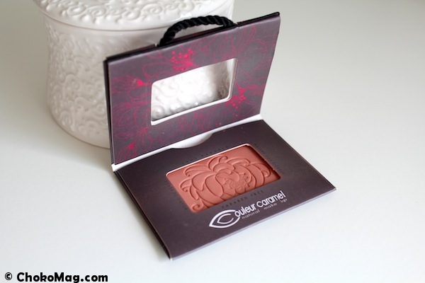 blush bio rose collection éphémère couleur caramel