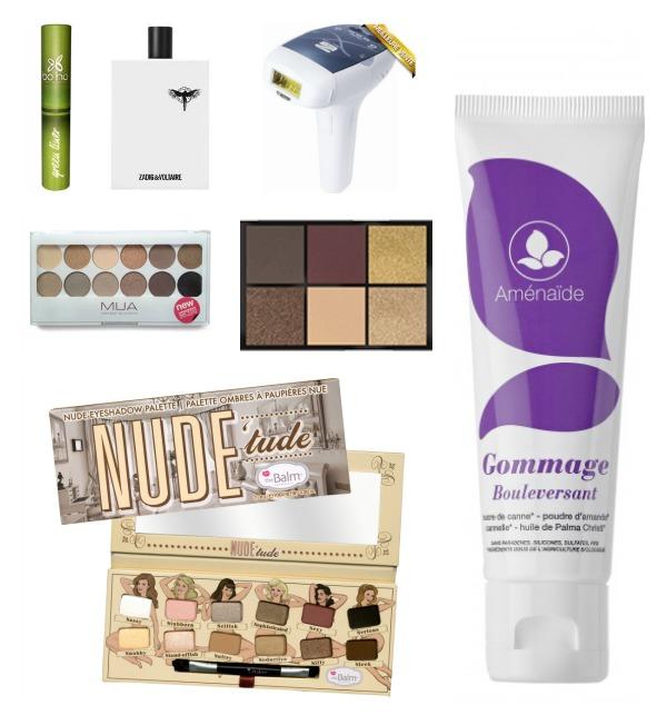 wishlist janvier beauté epilateur maquillage