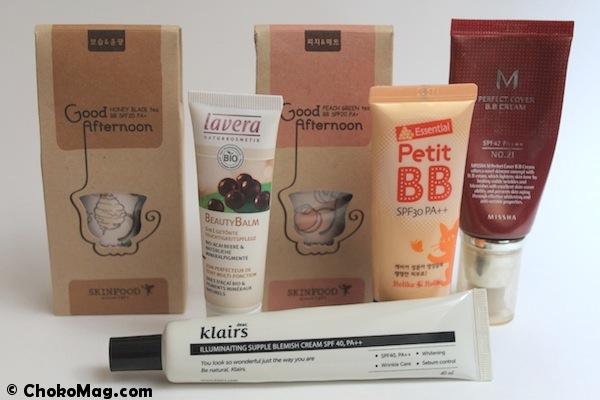 avis et test bb crèmes asiatiques ou bio