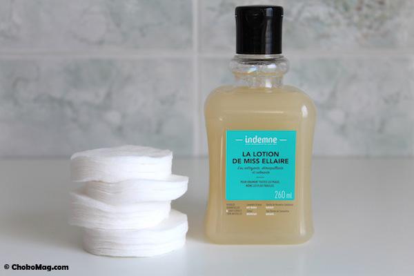 lotion micellaire naturelle miss ellaire