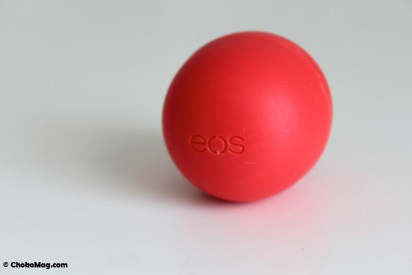 baume à lèvres 95% bio eos naturel