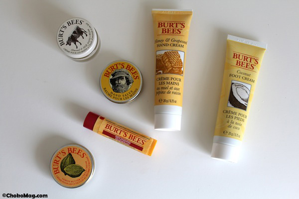avis crèmes mains pieds et cuticules burt bee marque naturelle