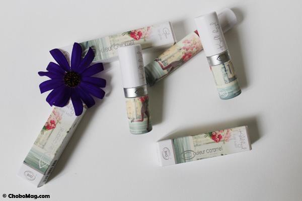 nouvelle collection limitée printemps été 2014 de la marque de maquillage bio et naturel Couleur Caramel