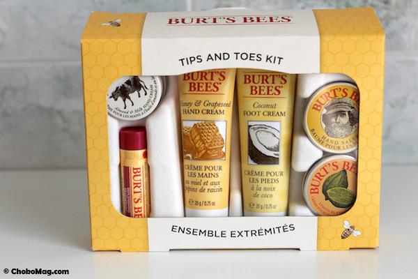 kit mains et pieds burt's bees