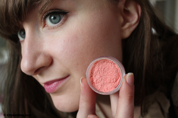 swatch blush 2B mousse