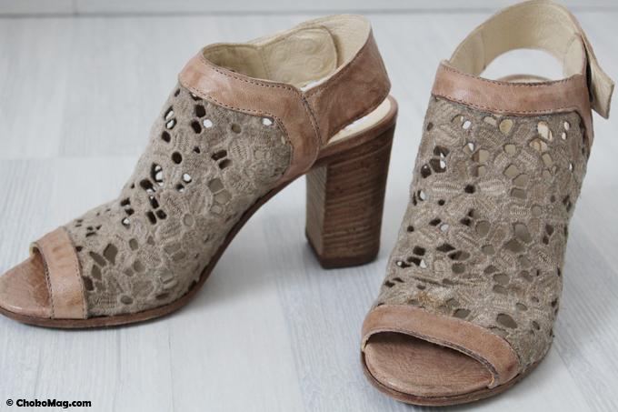 chaussures dentelles en cuir italien