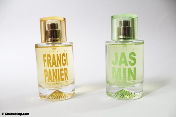 fleurs de jasmin et fleur de frangipanier nouveaux parfums solinotes