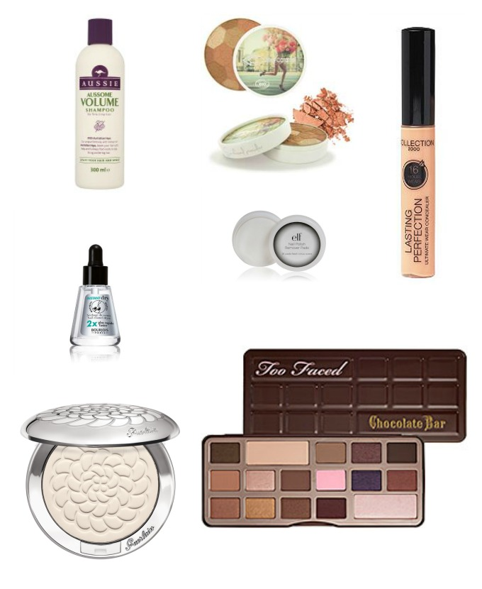 wishlist beauté du printemps guerlain elf too faced bourjois et couleur caramel