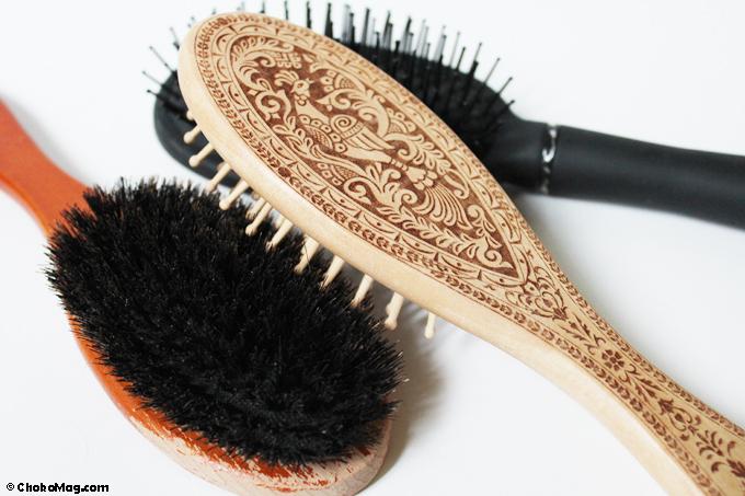 comment choisir sa brosse pour d m ler des cheveux tr s longs. Black Bedroom Furniture Sets. Home Design Ideas