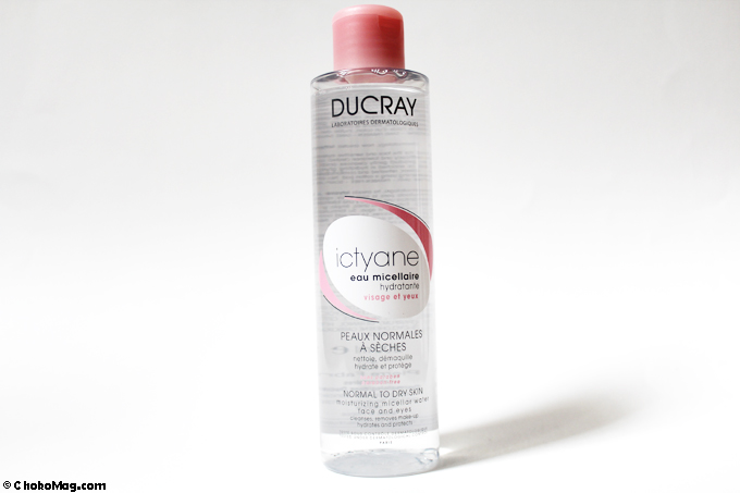 eau micellaire ducray ictyane