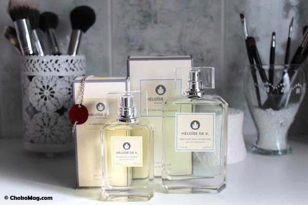 parfums heloise de v vendus au magasin printemps