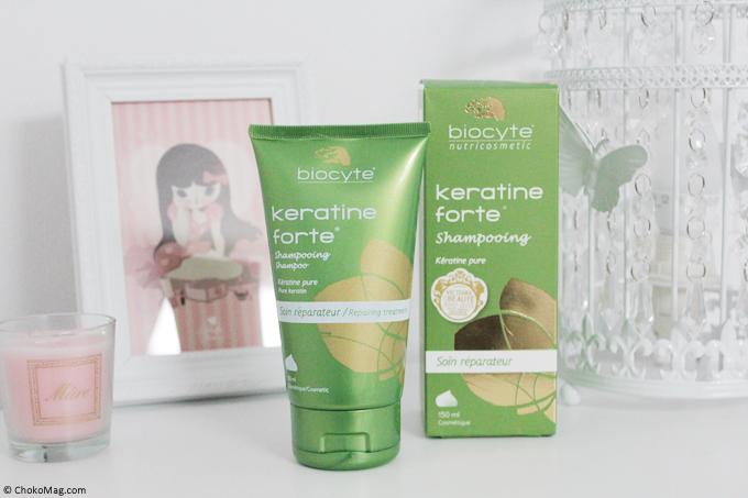 mon avis sur le shampooing keratine forte de biocyte