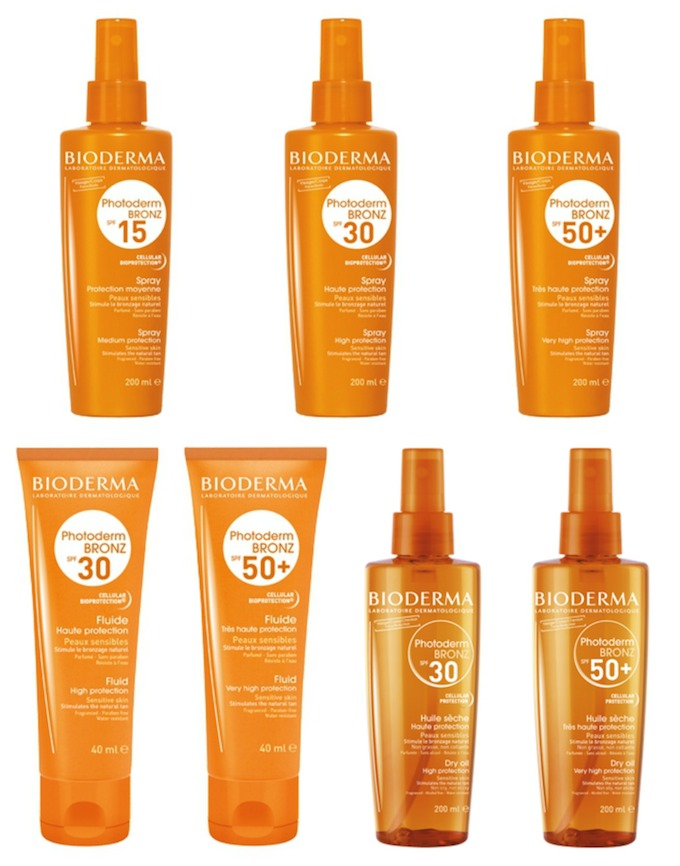bioderma photoderm bronz protection solaire bronzante