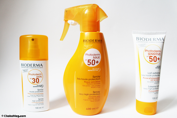 laits solaires corps bioderma