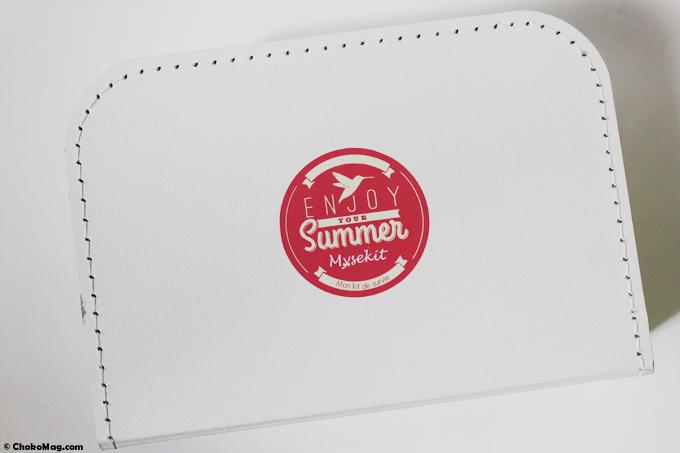 valise de l'été kit de survie box beauté mysekit