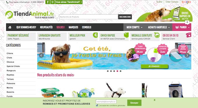 boutique en ligne pour tous les animaux