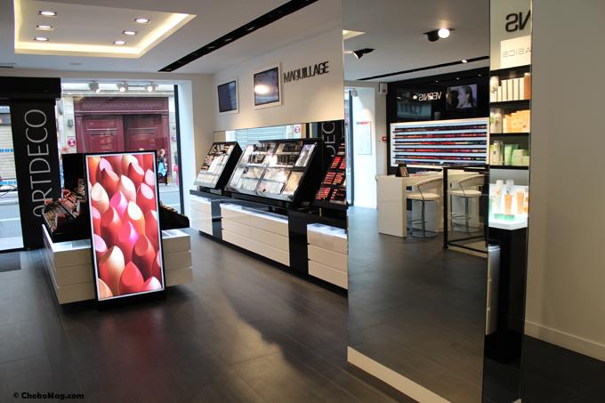 La 1 re boutique de maquillage artdeco paris blog for Boutique de decoration paris