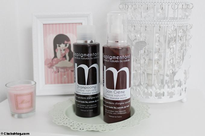 duo shampooing et soin repigmentant terre de sienne mulato
