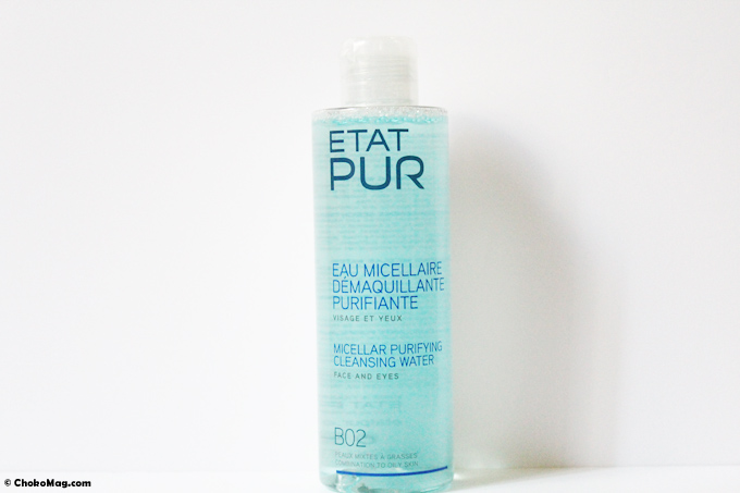 démaquillant purifiant au zinc composition clean etat pur