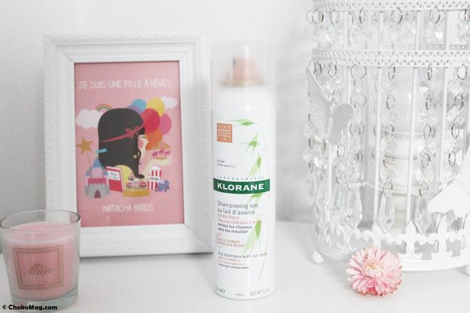 nouveau shampooing sec klorane spécial brunette