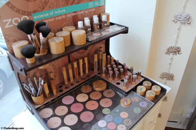 maquillage naturel bio Zao atelier des elfes paris