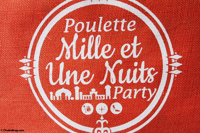 poulette bag sac cadeau poulette party